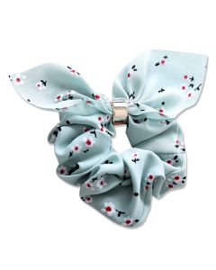 Everneed Bow Scrunchies – pastel mint