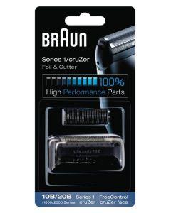 Braun Series 1/cruZer Foil & Cutter Shaver Head 10B/20B