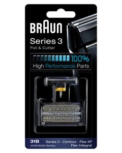Braun Series 3 Foil & Cutter Shaver Head 31B