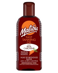 Malibu Fast Tanning Oil With Beta Catotene 200ml