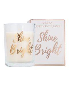 Candlelight Shine Bright Rose Gold