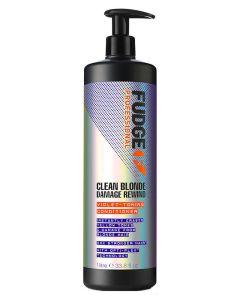 Fudge Clean Blonde Damage Rewind Violet-Toning Conditioner (N) 1000 ml