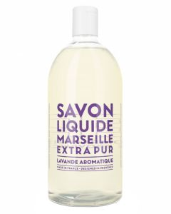 Compagnie De Provence Liquid Marseille Soap Aromatic Lavender 1000ml