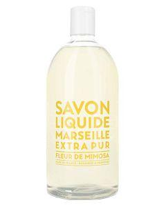 Compagnie De Provence Liquid Marseille Soap Mimosa Flower 1000ml
