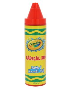 Crayola Radical Red Bath & Shower Gel 400ml