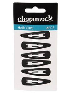 eleganza-hårspænder-sort