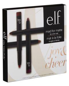 Elf Mad For Matte Lip Color Set