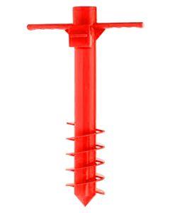 Excellent Houseware Parasolspyd Rød