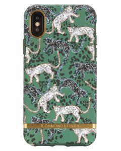 Richmond And Finch Green Leopard iPhone Xs Max Cover