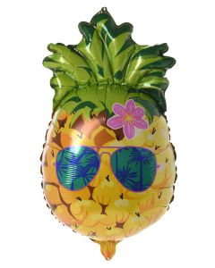 Party Collection Folieballon Ananas 60x35cm