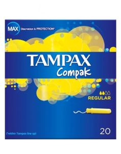 Tampax Compak - Regular 20 stk