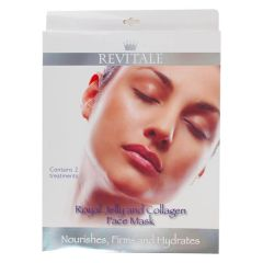 Revitale Royal Jelly and Collagen Face Mask 2 stk