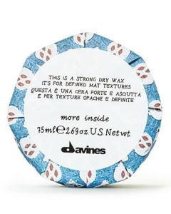Davines More Inside - Strong Dry Wax 75 ml