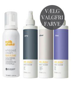 Milk_shake Whipped Cream + Valgfri Direct Colour