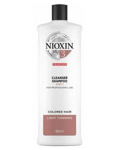 Nioxin 3 Cleanser Shampoo (N) 1000 ml