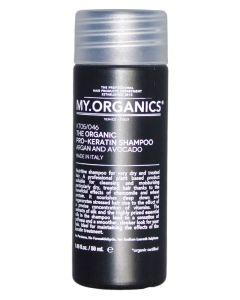 MY.ORGANICS - The Organic Pro-Keratin Shampoo Argan And Avocado 50 ml
