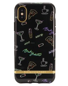 Richmond And Finch Bad Habits iPhone X/Xs Cover (U)