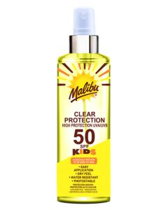 Malibu Kids Clear Protection Sun Spray SPF50 250ml