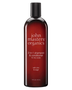 John Masters 2-in-1 Shampoo & Conditioner With Zinc & Sage 473ml