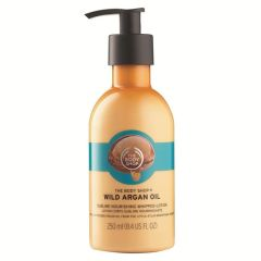 The Body Shop Wild Argan Oil Sublime Nourishing Whipped-Lotion 250 ml