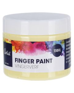 Krea Fingermaling Gul 150ml