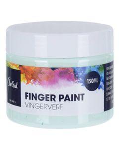 Krea Fingermaling Pastelgrøn 150ml