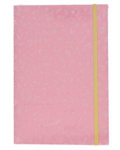 Krea Notesbog Pink Glimmer 140 sider