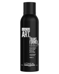 Loreal Tecni.Art Transformer Gel-To-Foam 150ml