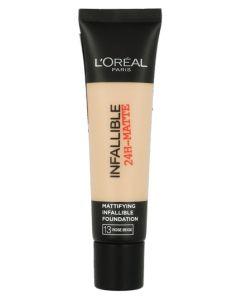 Loreal Infallible 24-Matte - 13 Rose Beige 35 ml