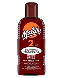 Malibu Bronzing Tanning Oil SPF 2 200ml