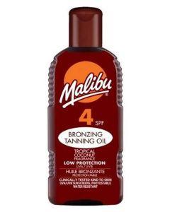 Malibu Bronzing Tanning Oil SPF 4 200ml