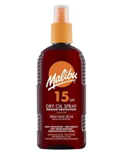 Malibu Dry Oil Sun Spray SPF 15 200ml
