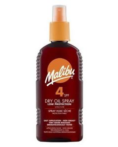 Malibu Dry Oil Sun Spray SPF 4 200ml