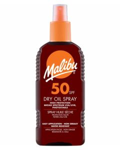 Malibu Dry Oil Sun Spray SPF 50 200ml