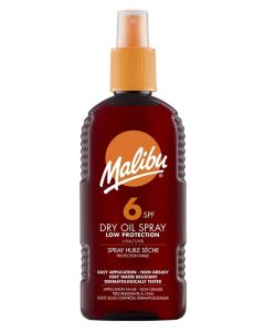 Malibu Dry Oil Sun Spray SPF 6 200ml