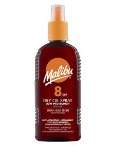 Malibu Dry Oil Sun Spray SPF 8 200ml