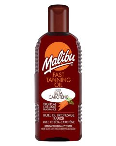 Malibu Fast Tanning Oil With Beta Carotene 100ml
