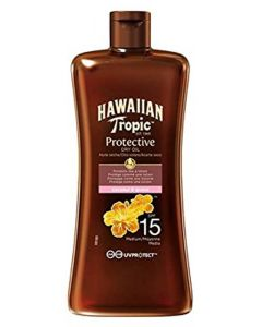 Malibu Hawaiian Tropic Protective Dry Oil SPF 15 100ml