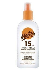 Malibu Sun Lotion Spray SPF 15 200ml
