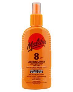 Malibu Sun Lotion Spray SPF 8 200ml