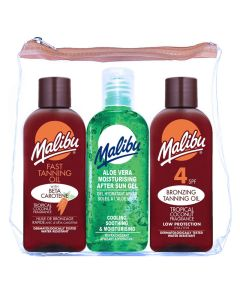 Malibu Travel Kit SPF 4 3x100ml