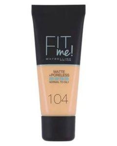 Maybelline Fit Me Matte + Poreless - 104 Soft Ivory