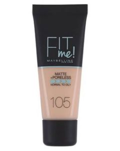 Maybelline Fit Me Matte + Poreless - 105 Natural Ivory