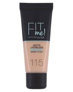 Maybelline Fit Me Matte + Poreless - 115 Ivory