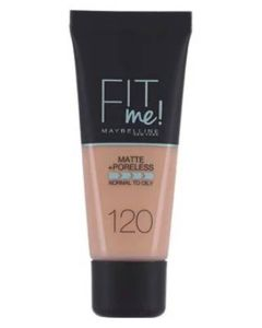 Maybelline Fit Me Matte + Poreless - 120 Classic Ivory