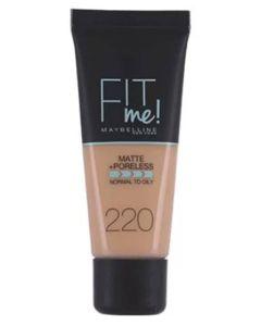 Maybelline Fit Me Matte + Poreless - 220 Natural Beige