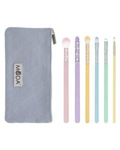Moda Posh Pastel Delicate Eye Kit 7 stk.