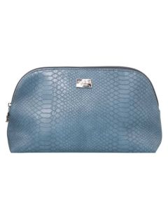 Gillian Jones Cosmetic Bag Blue Snake Art: 10742-13