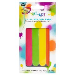 Npw Nail Art Files - Neon Emery Boards
