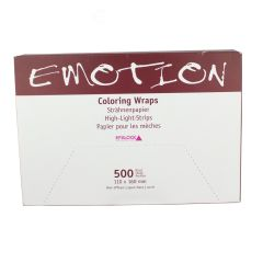 Efalock Emotion Coloring Wraps reflekspapir 500 stk 110x160 mm